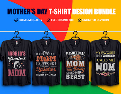 Mother's Day T-Shirt Design Bundle
