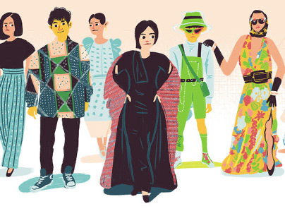 Kuala Lumpur Fashion Week Illustration