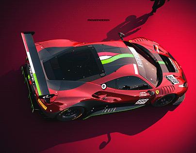 2020 Rinaldi Racing // 488 GT3