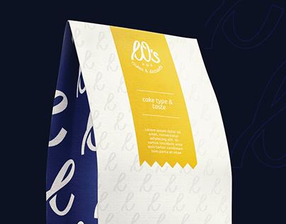 LOs CAKES & DESSERTS - Brand Identity Design