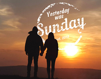 Yesterday was sunday logo / логотип для Instagram