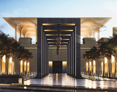 Emaar Competition - Mosque Design