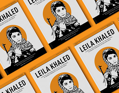 Leila Khaled - Masters Project Cover