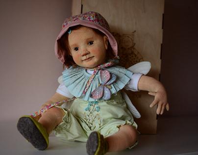 Art doll Hanni