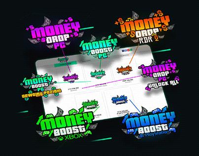 MoneyBoost - Branding