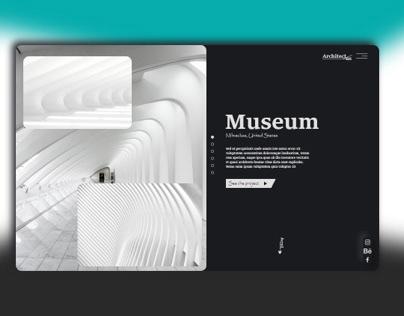Neumorphism Architect Agency