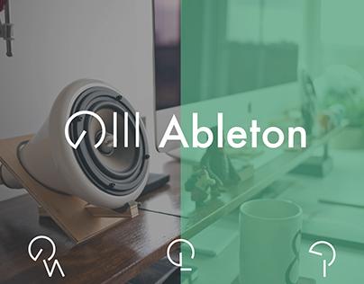 Ableton Logo Redesign