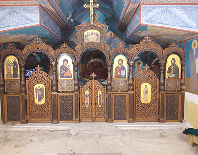 Iconostasis from the church of St. St. Cyril and Method