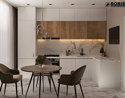 """APARTMENT IN THE RC """"LEVADA 2"""" DESIGN PROJECT"""