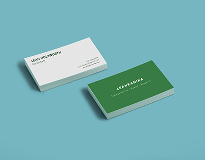 LEAHKANIKA Business cards