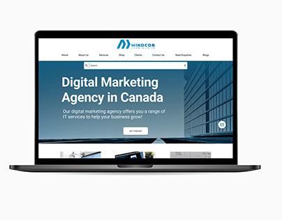 Digital Marketing Agency Ui (Web)