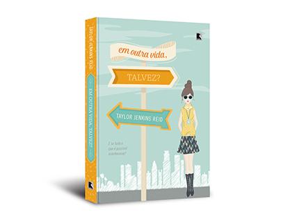 """Cover design of """"Em outra vida, talvez?"""""""