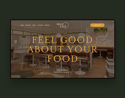 OVLO Eats - UX/UI & Branding