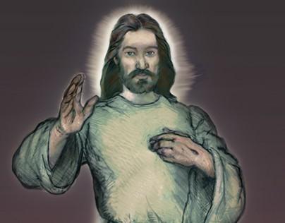 Divine Mercy/Sacred Heart