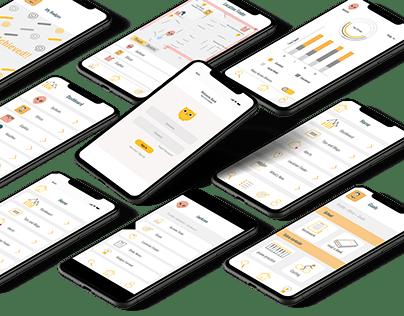 Ux/UI Case Study - Screentime Managing App