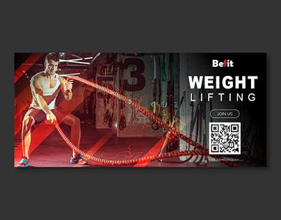 Befit Gym Banner