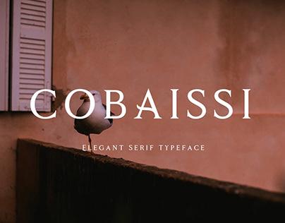 Cobaissi Serif Typeface