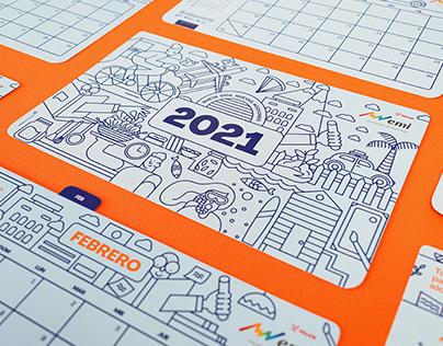 EMI · Calendario 2021