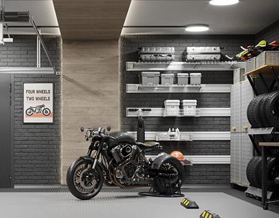 Portal, garage project.