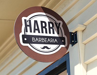 Branding Harry Barbearia