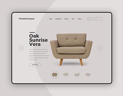 Furniture Store - Website