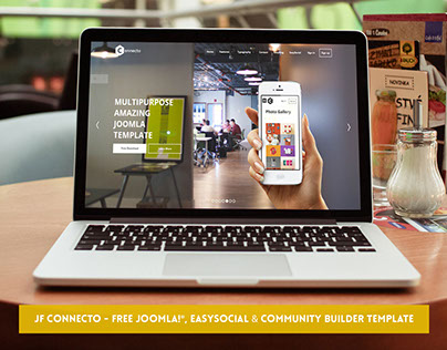 JF Connecto - FREE Joomla, EasySocial & CB Template