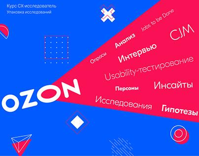 Исследование Ozon.Продукты