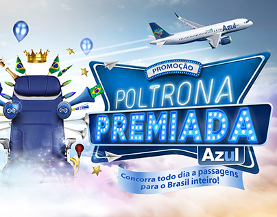 Promotion - Poltrona Premiada Azul (winning seat Azul)