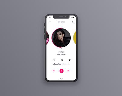 Music Player App | UI Design