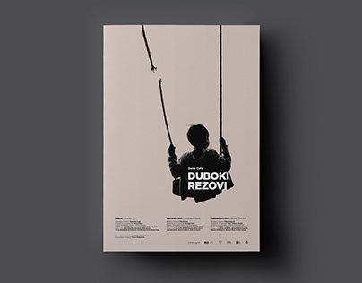 Deep Cuts — Movie poster design