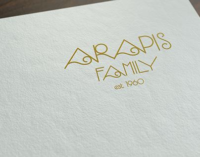Arapis Family Honey Logo