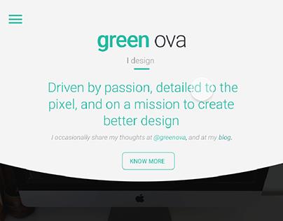 Free Website Template | Green Ova