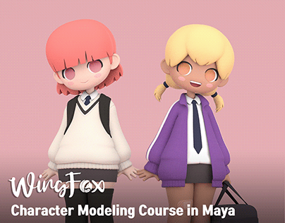 Classmates: Modeling Course in Maya