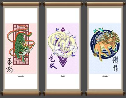 7 Deadly Sins x Chinese Mythology