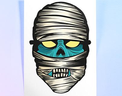 Vector mummy
