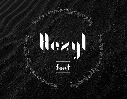 HEZYL : typography