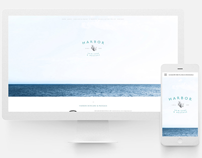 Harbor Skin Care & Massage Website