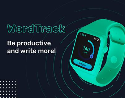 WordTrack Apple Watch App | UX/UI