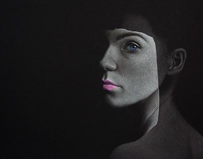 Portrait. Hidden emotions