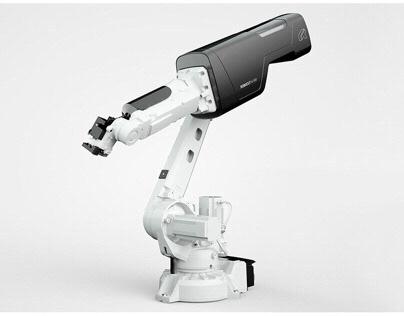 3D / CGI // Laser robot
