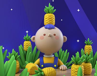 Pineapple boy!