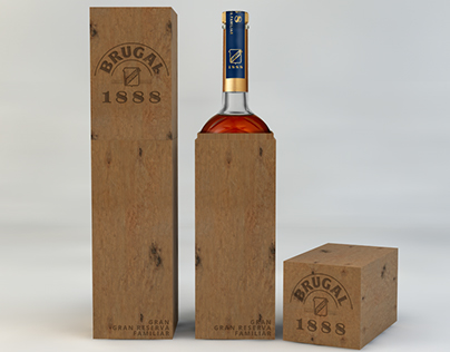 PACKAGING RON BRUGAL - WOOD