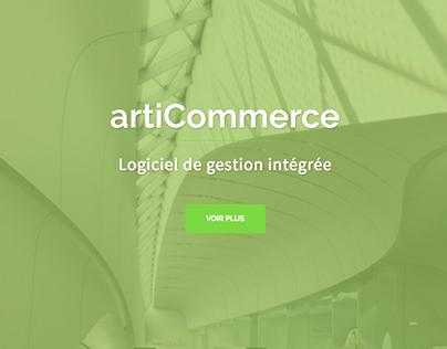 Refonte site web articommerce.com.tn