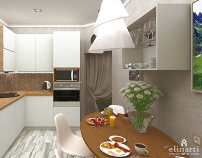 "Kitchen ""The curve"""