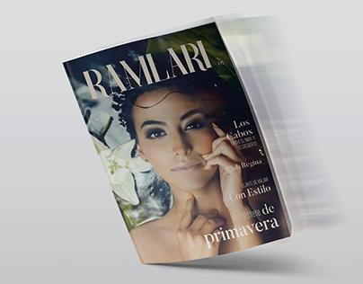 Ramlari editorial design