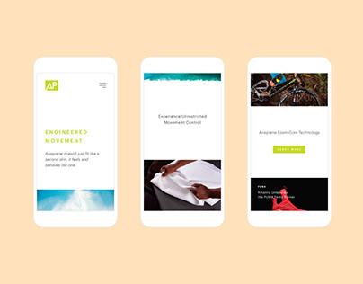 Ariaprene Website