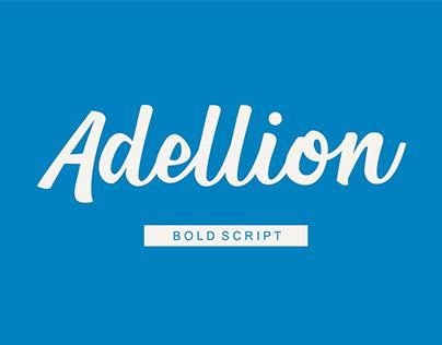 Adellion Bold Script