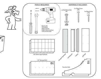 Skate Ramp Assembly Instructions