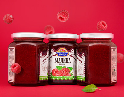 A Jam Label in Ethnic Style