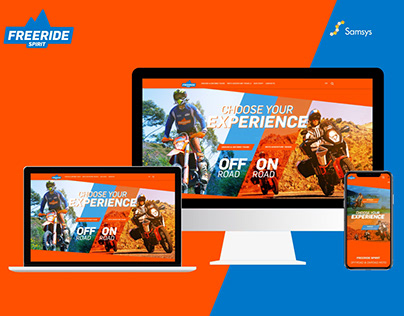 Freeride - Website Design